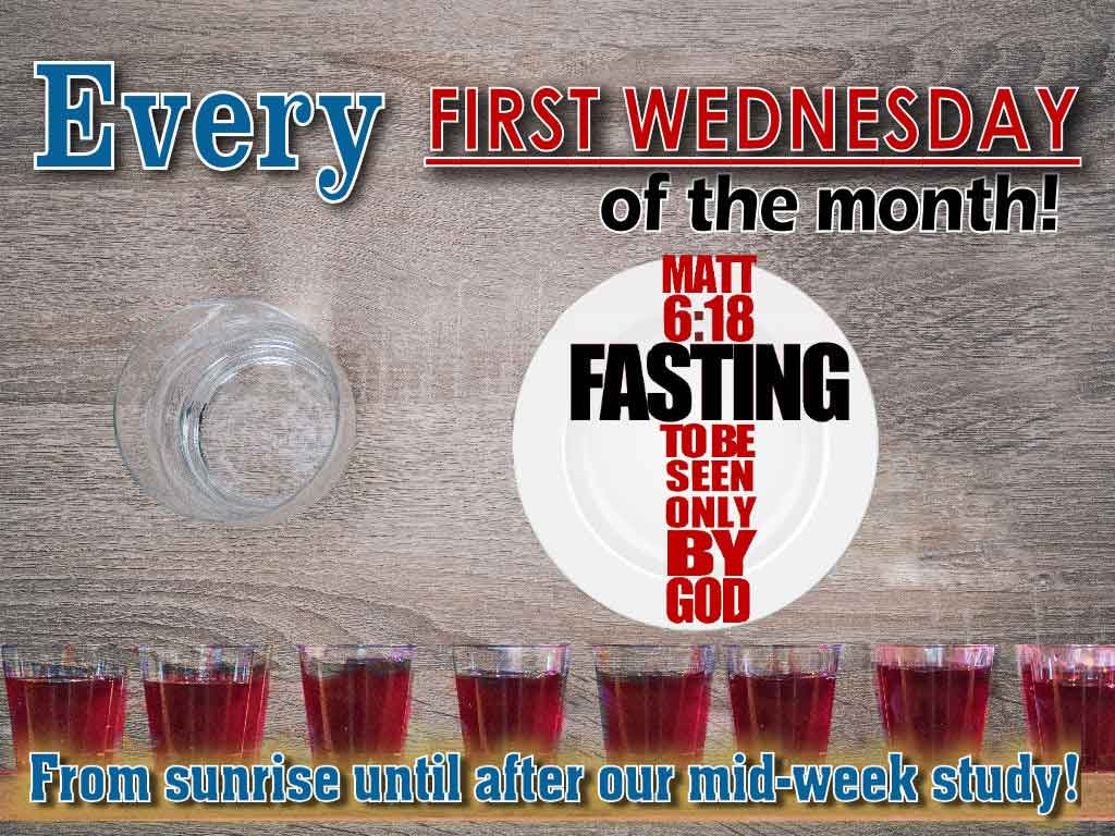 WEB Fasting every first wednesday 2019